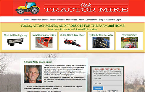 ask tractor mike home page